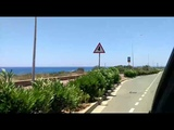 Road from Capo Greco to Ayia Napa (Cyprus June 2018)-1-day