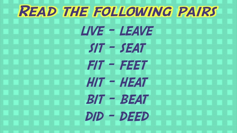 Phonetics DAY 4 - The Length Of Vowels