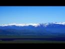 с Чендек Уймонская долина на фоне Катунского хребта и Белухи