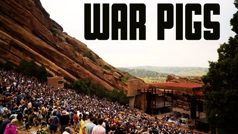 The Main Squeeze - War Pigs (Live at Red Rocks)