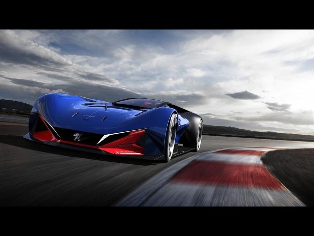Peugeot L500 R Hybrid 500-сильный суперконцепт