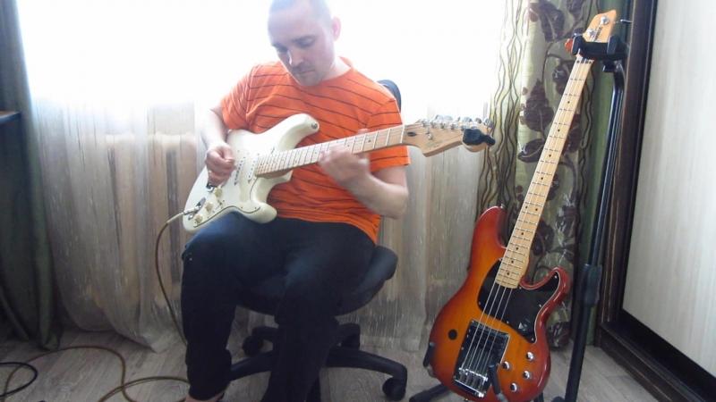 Squier Deluxe Ibanez ATK Bass (тест импровиз Ebm)