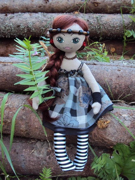 Мастер-класс по изготовлению куклы (8 фото) - картинка
