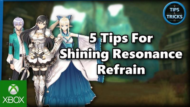 NS\PS4\XBO - Shining Resonance Refrain (Shining Resonance Refrain)