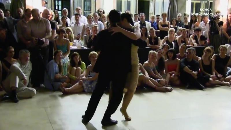 """Milonga del recuerdo"". Ariadna Naveira and Fernando Sanchez. Танго фестиваль ""Ночи Милонгеро"""