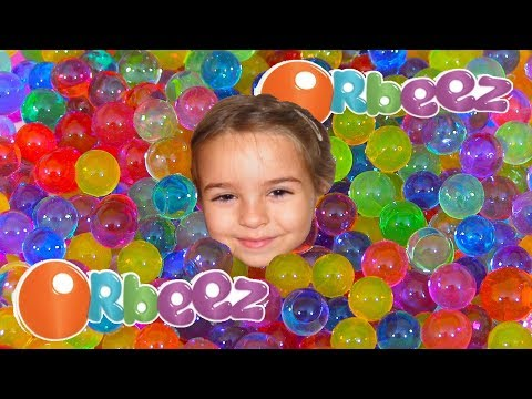 Learn Colors and Play with Orbeez for Children Square Orbeez