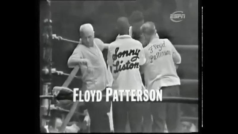Sonny Liston Floyd Patterson 2