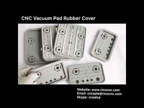 CNC Vacuum Clamp Suction Cups Pods Cover Rubber Replacement Plates for CNC Routers