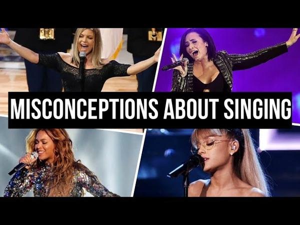 Biggest Misconceptions About SINGING (Vocal Technique)