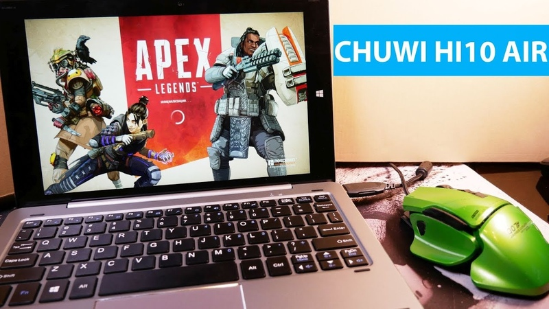 Apex Legends на CHUWI HI10 air. Обзор windows планшета с клавиатурой