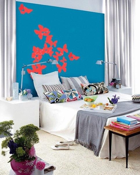 Подборка красивых спален в Испании.