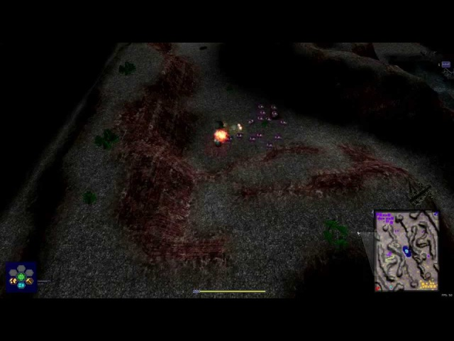 Warzone 2100 WT 2015 M'r Gecko vs RBMW Fenrir on Darkness