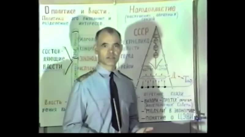 Перестройка - 35. Экономика «невинного» обмана (Зверев А.А. 1991г)