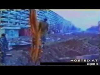 Казнь русского солдата в Грозном