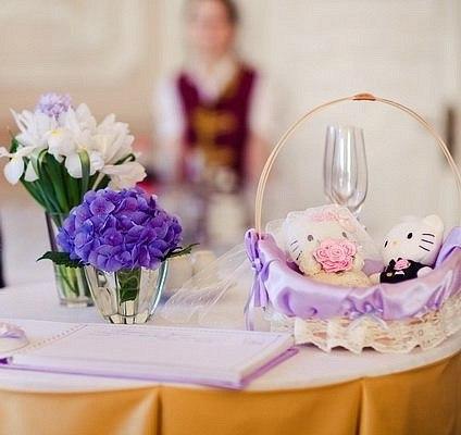 аксессуары для свадебного декора