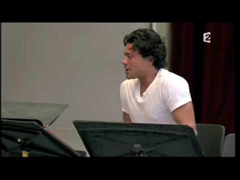Vittorio Grigolo - rehearshal Choregies DOrange 2009