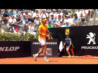 Top 10 Shots and Rallies _ Rome 2018
