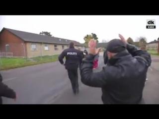 Dänische Migrationsministerin muss aus Flüchtlingsheim flüchten und wird evakuiert – Dienstwagen fährt Asylanten um!