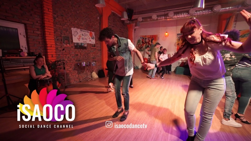 Sergey Gazaryan and Inna Kolpakova Salsa Dancing in Respublica Vosmera, Monday 30.04.2018 (SC)