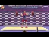 Junior Weightlifting World Championships 2014 Men 85kg C&J