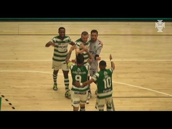 Liga Sport Zone, 21.ª jornada: Sporting 5-4 Leões Porto Salvo