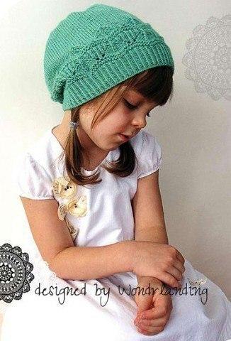 Шапочка для девочк (6 фото) - картинка