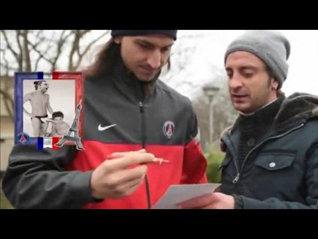 La TV italienne piège Ibra, Verratti, Pastore et Beckham / PSG