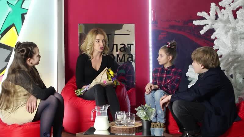 Интервью с актрисой театра и кино Екатериной Рокотовой