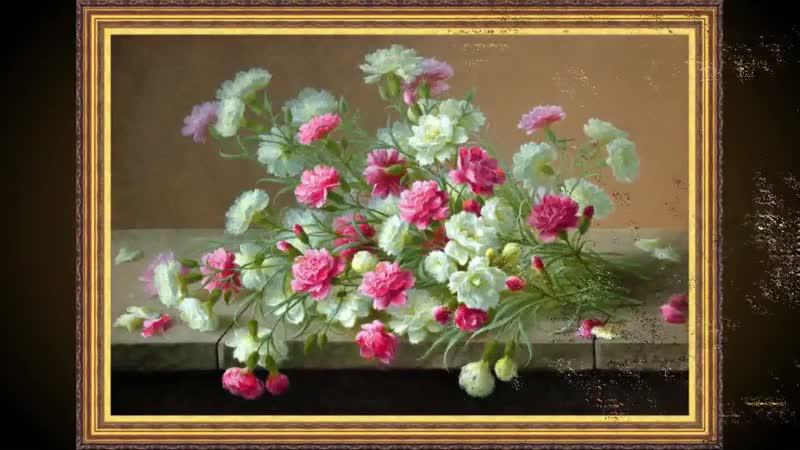 Flowers in Art-Raoul Maucherat De Longpre