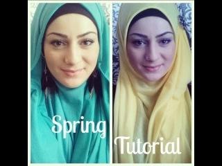 Infinity Loop Hijab Tutorial - NEW 2013