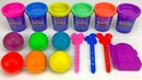 Making 3 Ice Cream out of Play Doh and Learn Numbers | Surprise Toys LOL Kinder Surprise Eggs