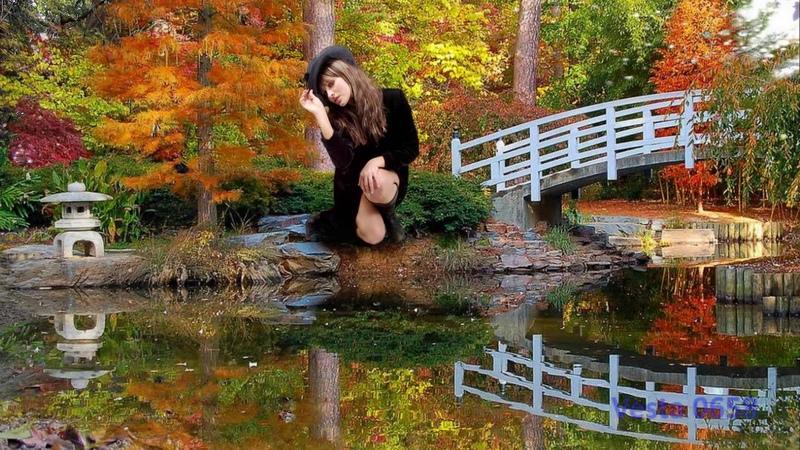 Девка рыжая осень. Исполняет Демидыч