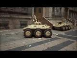 СКОРПИОН - Боевой, телеуправляемый, армейский робот, для уличного боя !!!