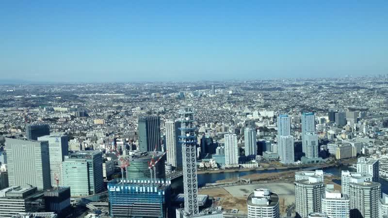 Landmark Tower Фудзи не видно