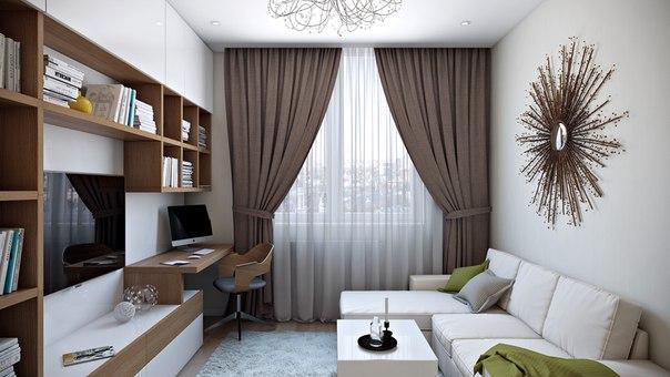 Хотите увидеть, как красиво может выглядеть ваша комната после ремонта? Хотите знать, какие материалы и мебель вам нужно купить? Продолжение читайте в источнике
