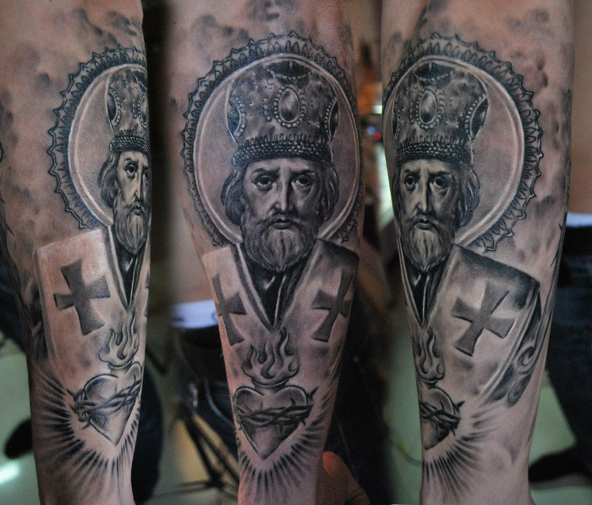 Религиозные тату с