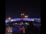 Ночная прогулка по каналам с разводом мостов