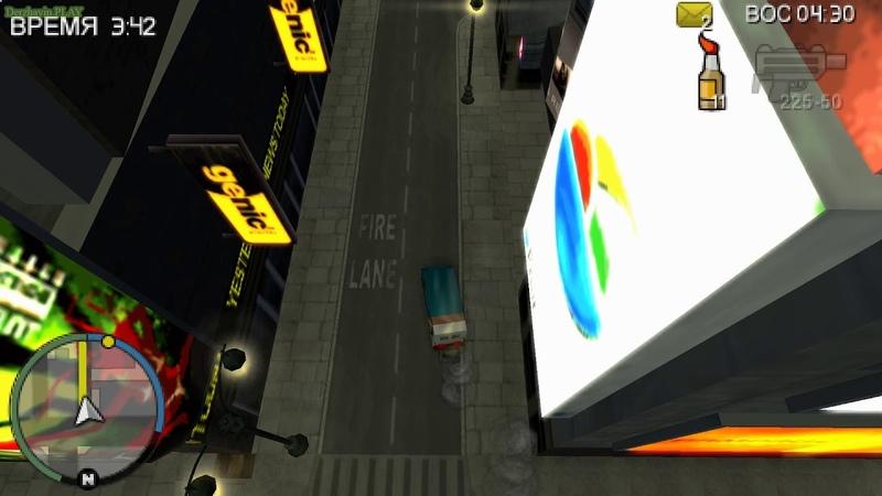 Прохождение GTA Chinatown Wars на 100% - Прочая работа - Миссия 6: Доставка - 2 (Liberty State Delivery)