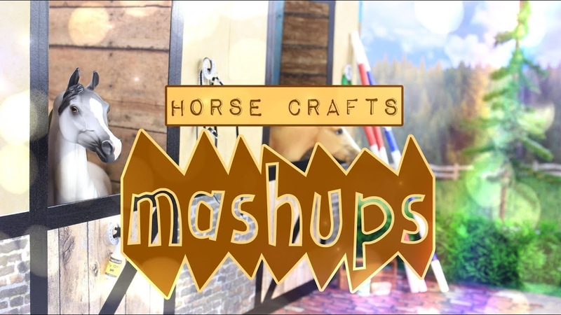 Mash Ups: Horse Crafts - How to Make: Arena | Breyer Barn | Caddy | Stables | Water Stall More
