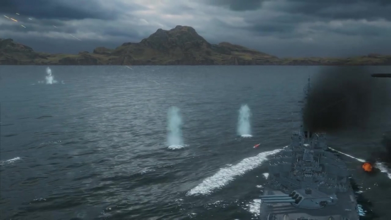 Линкор Alabama Армада World of Warships