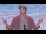 Ashton Kutcher Acceptance Speech - Opportunity Looks A Lot Like Hard Work