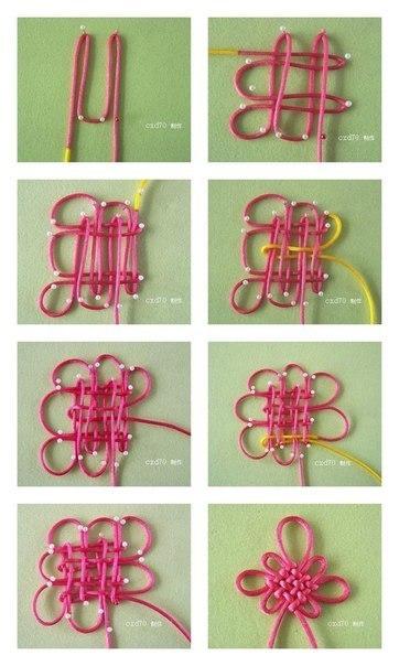 китайские узлы схемы