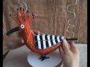 CraftRootz - Hoopoe wire sculpture