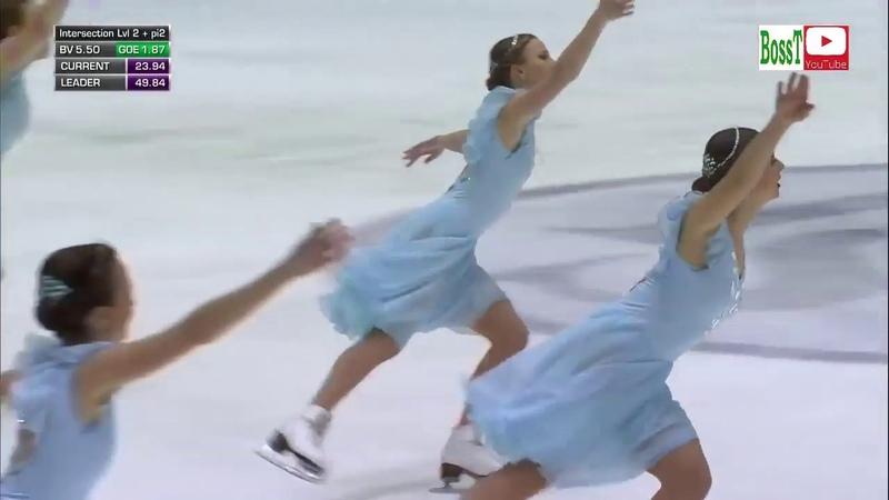 Team TATARSTAN Rus SP Synchro WC 2019