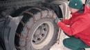 Опасные Скандинавские дороги, цепи противоскольжения на трехосник, северное сияние, 5 серия