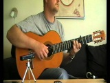 Scarborough Fair fingerstyle guitar (with tabs)