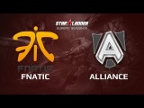 Alliance -vs- Fnatic, Star Series Europe Day 13 Game 3