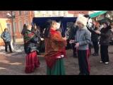 Народные гулянья на Пасху в исполнении ансамбля казачьей песни