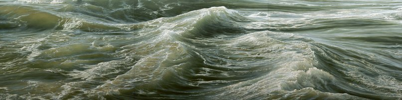 Художник и серфингист-путешественник Ran Ortner рисует океанские просторы маслян...
