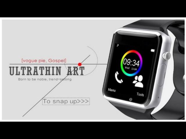 Smart Watch A1 WristWatch Bluetooth Fitness Pedometer Wear SIM Camera Smartphone Russia T15